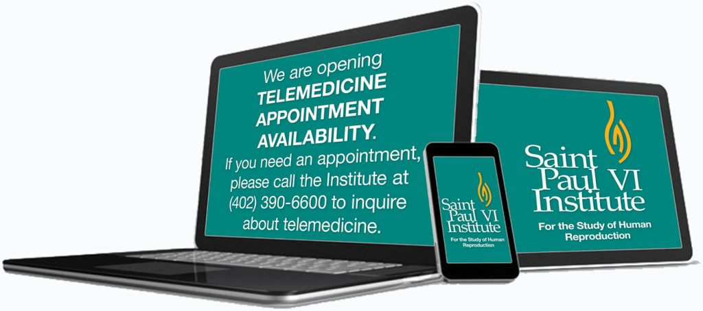 We are opening TELEMEDICINE APPOINTMENT AVAILABILITY. If you need an appointment, please call the Institute at (402) 390-6600 to inquire about telemedicine.
